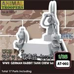 German Rabbit  Tank Crew Set 1/35
