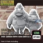 German Hippo  Tank Crew Set 1/35