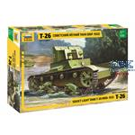T-26 mod. 32 light Soviet Infantry Tank   1/35