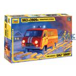 UAZ 3909 Firefighter Car 1/43