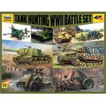 WWII Battle Set Tank Hunting 1/72