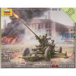 1:72 WWII  Sov. 37mm Flak 6I-K