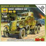 1:100 WWII sov. Panzerwagen BA-10