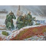 1:72 Deut.Maschinengewehr Crew (Winter)