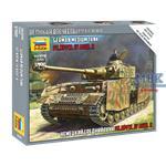 Panzer IV Ausf. H German Tank WWII  1:100