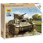 1:100 Stuart  US-Tank