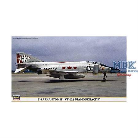 """F-4J PHANTOM II \""""VF-102 DIAMONDBACKS\"""""""