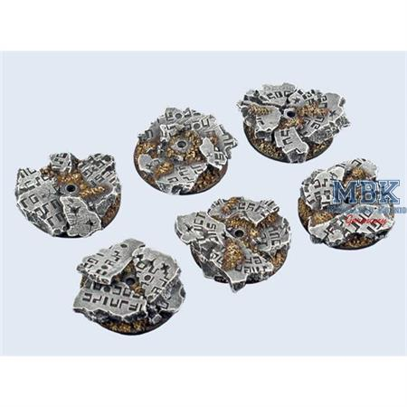 Ruins Bases, Round Flying 30mm