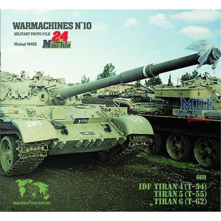 WarMashines No. 10 IDF T54/T55/T62 Tiran