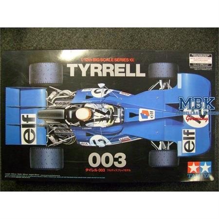 1/12 Tyrrell 003 - F1 Weltmeister 1971