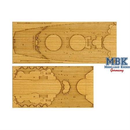 1/350 Yamato Holz Deck (für Tamiya 78025)