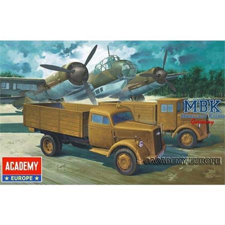 GERMAN ARMY WWII CARGO TRUCK
