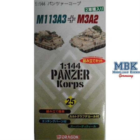 M113A3 & M3A2 Bradley dual-pack 1:144