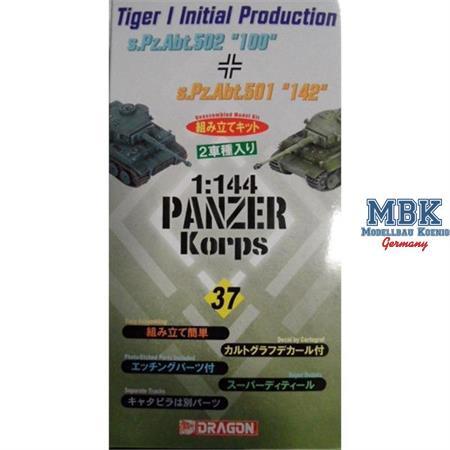 "Tiger I initial ""100"" & ""142""  dual-pack 1:144"