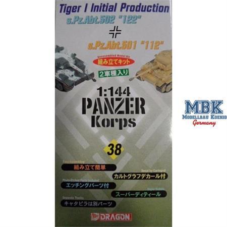 "Tiger I initial ""122"" & ""112""  dual-pack 1:144"