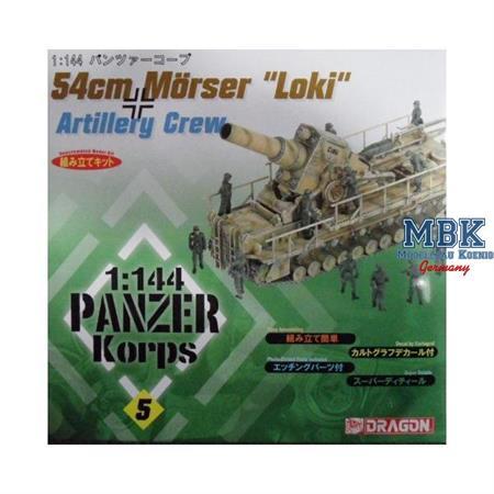 "54cm Mörser ""Loki"" mit Crew 1:144"