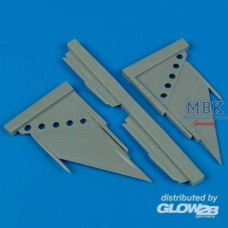 MiG-21MF/bis/SMT correct stabilizers für Fujimi Ba