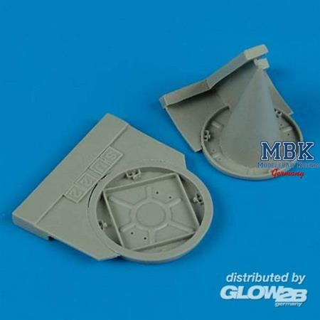 Su 22M-4 exhaust & air intake covers (ED