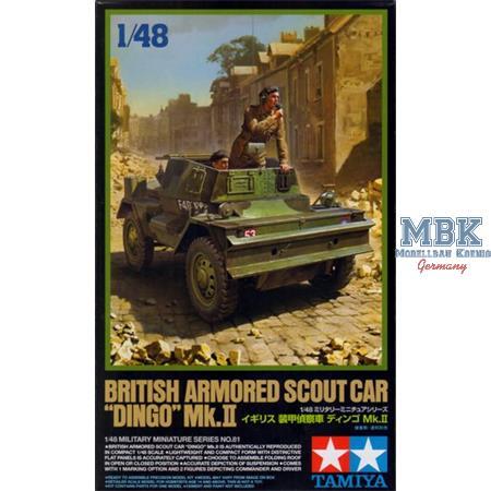 Dingo II Britischer Panzerspähwagen 1:48