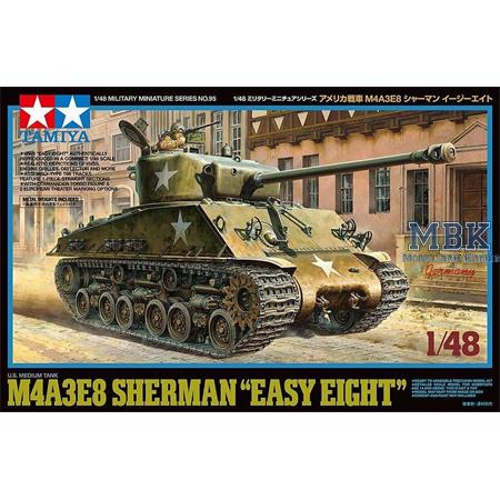 US M4A3E8 Sherman Easy Eight 1/48