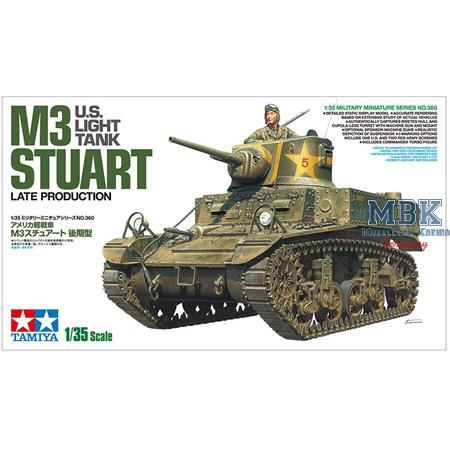 US M3 Stuart späte Produktion / late production