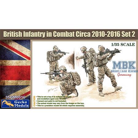 British Infantry in Combat 2010-16 Set 2