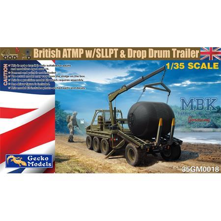 British ATMP w/SLLPT & Drop Drum Trailer