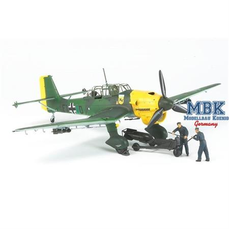 WWII I/T Ju-87 B-2 Stuka m.Ladecrew
