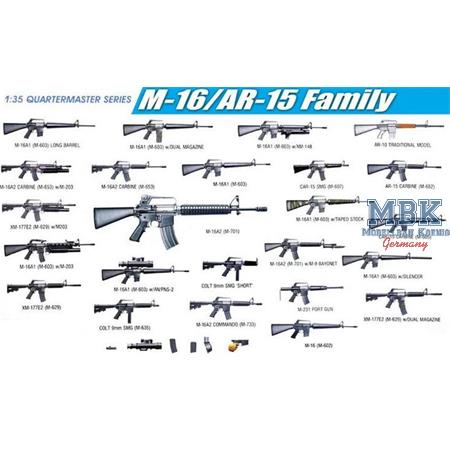 M16/AR15 Family Weapons Set