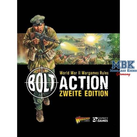 Bolt Action: Zweite Edition Rulebook - DEUTSCH
