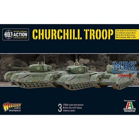 Bolt Action: Churchill Troop