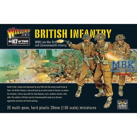 Bolt Action: WWII British Infantry