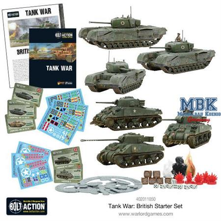 Bolt Action: Tank War- British starter set