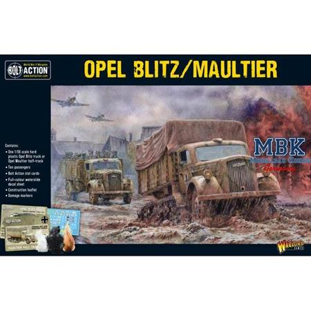 Bolt Action: Opel Blitz and Maultier