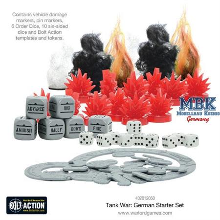 Bolt Action: Tank War- German starter set