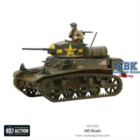 Bolt Action: M3 Stuart  light tank