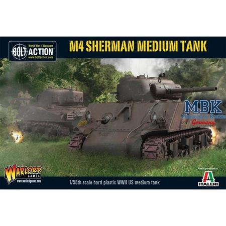 Bolt Action: M4 Sherman medium tank