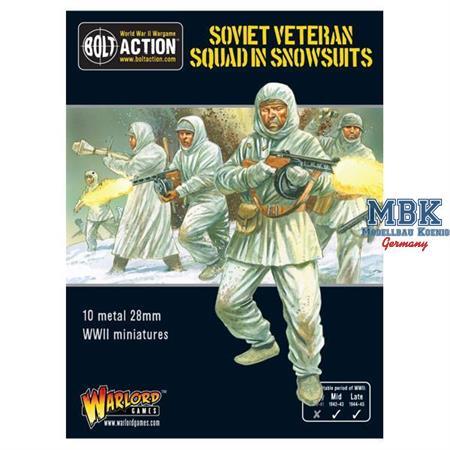 Bolt Action: Soviet Veteran Squad in Snowsuits