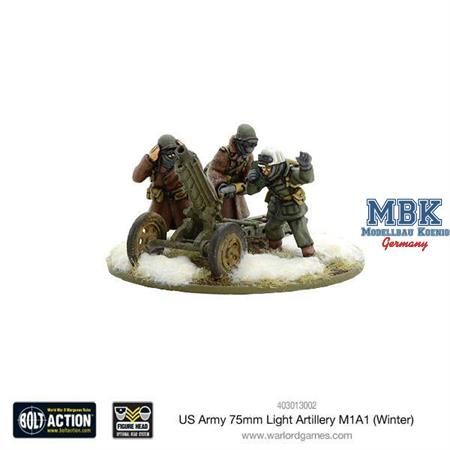 Bolt Action: US Army 75mm Light Artillery M1A1