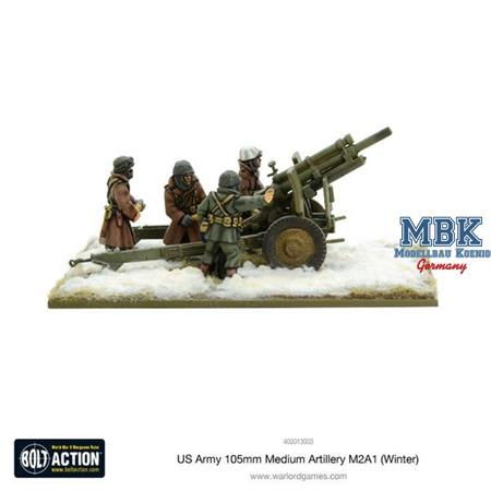 Bolt Action: US Army 105mm Medium Artillery M2A1