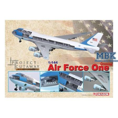 "Boeing VC-25A ""Air Force One""- Fertigmodell 1:144"