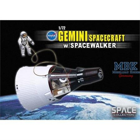 Gemini Spacecraft w/ Spacewalker