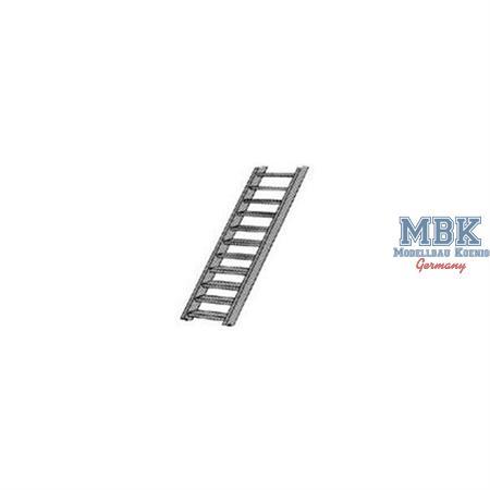 Treppe (Maßstab G 1:24) mm.13,5Hx36,5Wx300L