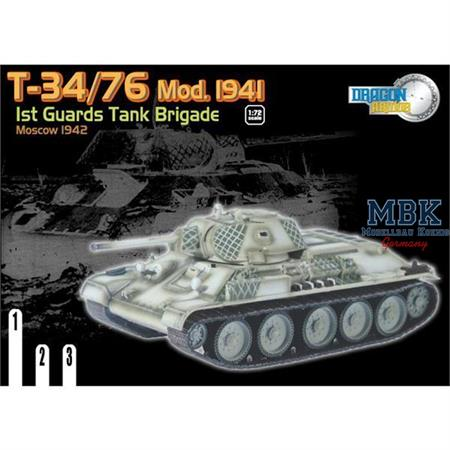 T-34/76 Mod. 1941, 1st Guards Tank Brigade, Moscow