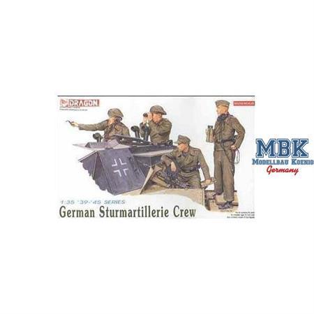 German StuG Crew 1940-45