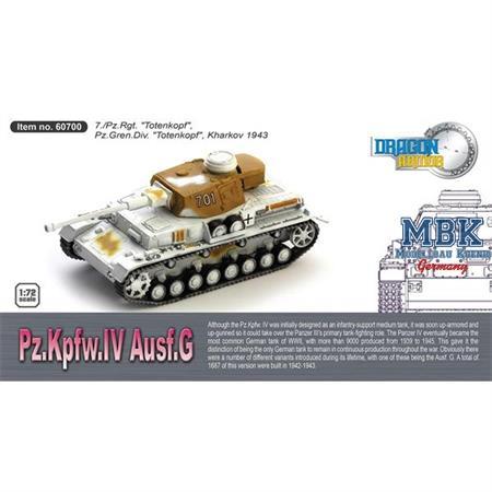 Panzer IV Ausf. G  7.Pz. Rgt. Totenkopf