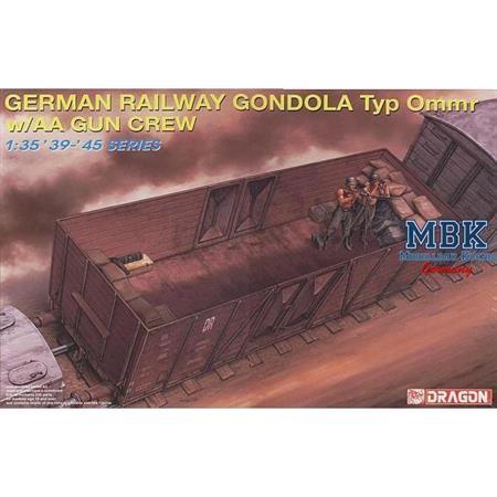 German Railway Gondola Type Ommr