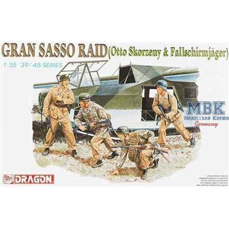 Gran Sasso Raid (otto Skorzenky & Fallschirmjäger)