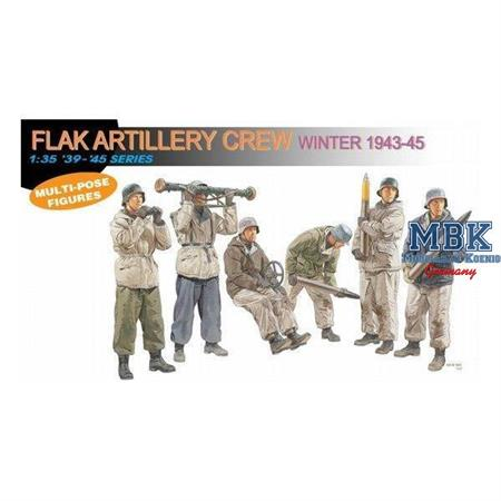 German Flak Artillery Crew