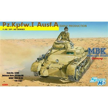 Panzer I Ausf. A Early Production ~ Smart Kit Seri